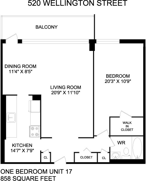 Floorplans For Apartments In London At 520 Wellington